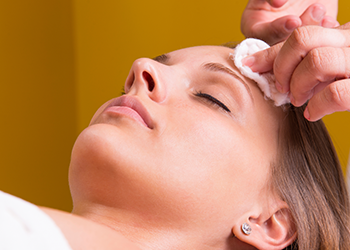 Chemical Skin Peel Facial Treatment