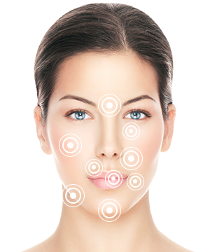 where are dermal fillers injected